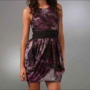 NWT Alice + Olivia Marie Tulip Bow Belt Dress Sz 4